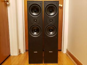 Missil Tall Tower Speakers w/ Bullet Woofers 440W
