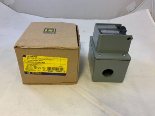 SQUARE D 2510KW1 MANUAL MOTOR STARTING SWITCH