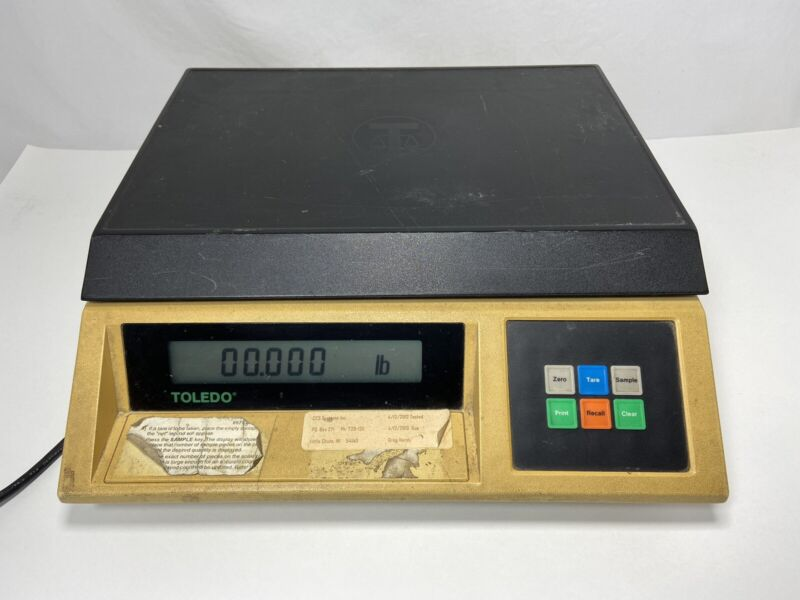 Mettler Toledo Model 8571 Analytical Counting Scale / Balance - 25 lb Capacity
