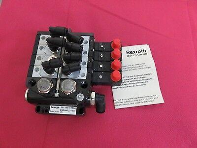 Bosch Rexroth Pneumatic Air Block 591 R48 000 331 4s 0 820 060 761