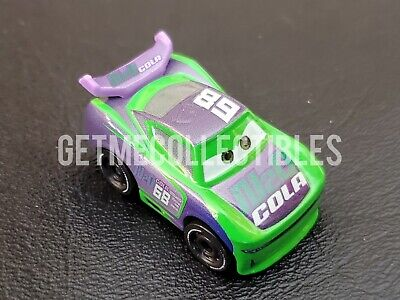 DISNEY PIXAR CARS MINI RACERS HJ HOLLIS NEXT GEN N2O COLA BOX #54 FREE SHIP $15+
