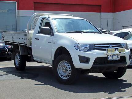 2012 Mitsubishi Triton GLX Ute *** DIESEL ***  $10,750 DRIVE AWAY Footscray Maribyrnong Area Preview