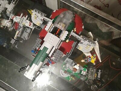 LEGO Star Wars Lot X-Wing, Slave 1, AT-ST and more.  **Read Details