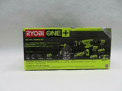Ryobi P1819 18-volt One Lithium-ion Cordless 6-tool Combo Kit