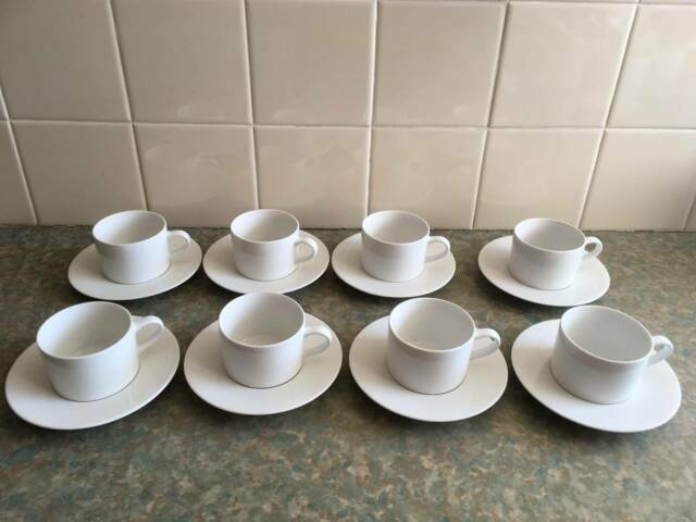 Coffee cups and saucers Maxwell Williams x 8 | Dinnerware ...
