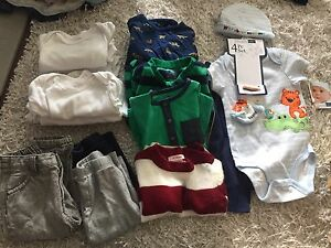 Boy clothing lot 6-12 months - 17 pieces