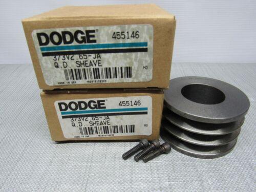 Dodge 455146 Sheave 3 Belt Pulley 3/3V2.65-JA  Lot of 2