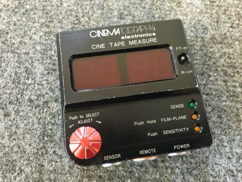 CineTape Sonic Focus Device, Focus Bug, Arri, Follow, Red Digital DSMC, Sony,