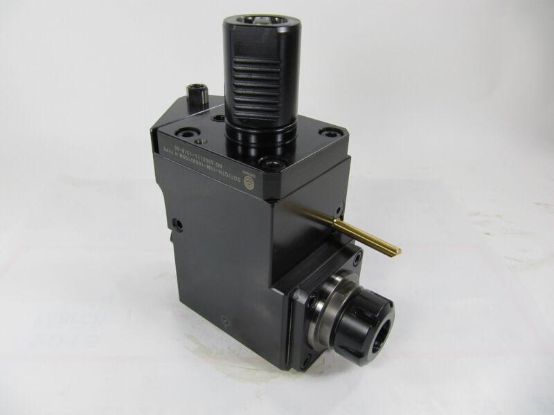 Mazak Mfr# 5352111 H Type Milling. Drilling Head Double Heads