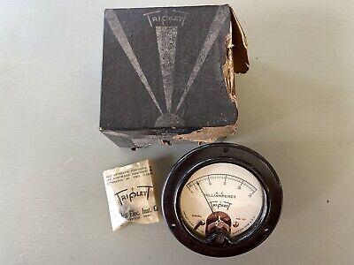 Triplett 331 Ammeter Vintage Nos Meter Ac Miliamperes