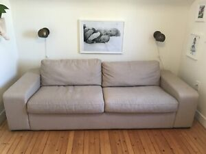 EQ3 Sofa with pull-out bed