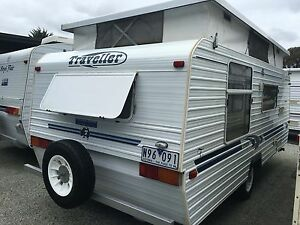 2001 Traveller Poptop - Island Double - Rollout w/Walls Warragul Baw Baw Area Preview