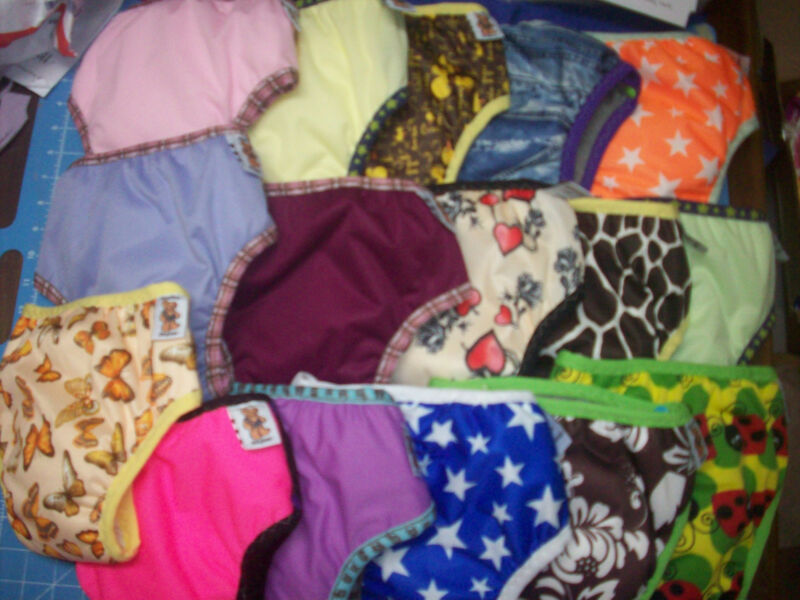1 Random MamaBear One Size Waterproof Training Pants Underwear 18m-5yr