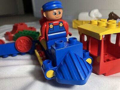 Lego Duplo Train Vintage Lot Figure Sheep Engine Tool Blocks