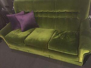 Retro Vintage 3 Seater Sofa Melbourne CBD Melbourne City Preview