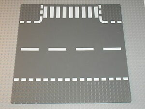 plaque de base route lego city dkstone road baseplate 32 x 32 ref 44341px2 ebay. Black Bedroom Furniture Sets. Home Design Ideas