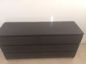 IKEA chest of draws 6 draws Bellbird Park Ipswich City Preview