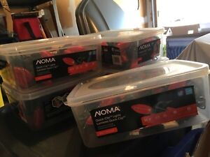 Red NOMA LED lights with clips.