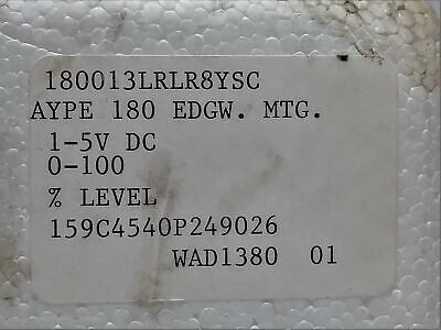 Yokogawage 159c4540p249026 Edgewise Level Meter