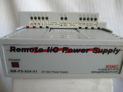 Sixnet 110 Power Supply Remote Trak-rs485- Modus 10 Modules- Rm-ps-024-01