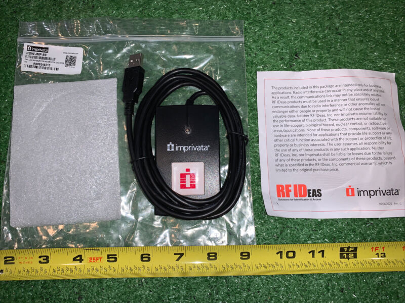 NEW- Imprivata IMP-80 RF Proximity Reader USB HDW-IMP-80