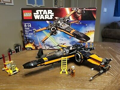 Lego Star Wars Ep 7 Force Awakens 75102 Poe's X-Wing Fighter
