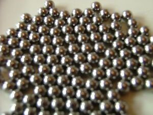 40 x CROSSFIRE GAME SPARE STEEL BALL BEARINGS IDEAL MB GAMES BALLS