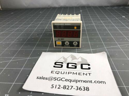 NAGANO KEIKI GC62 DIGITAL DIF. PRESSURE GAUGE 5335
