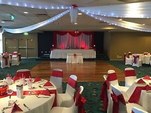 80% Discount On Wedding Reception decoration hire Chair cover 1$ Hoxton Park Liverpool Area Preview