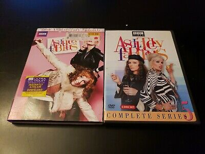 BBC Absolutely Fabulous Dvd Lot Complete Series 5 & 20th Anniversary Speacials
