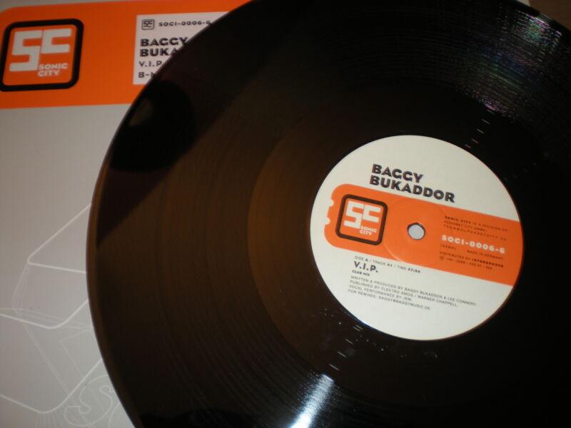 Baggy Bukaddor V.I.P. VINYL acappella B Mix