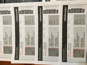 Masters of Illusion - 4 tickets