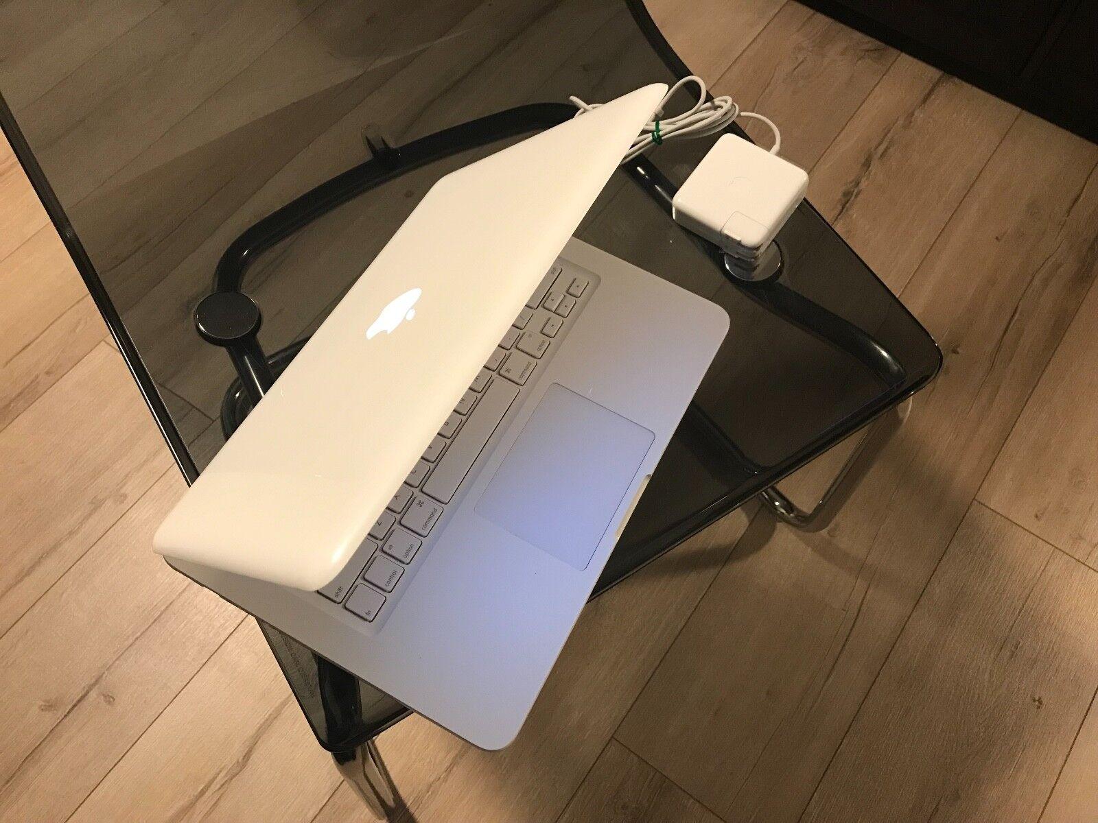 "Apple MacBook White 13"" A1342 250GB HDD, 8GB of Ram. New OS X  High Sierra 2017"