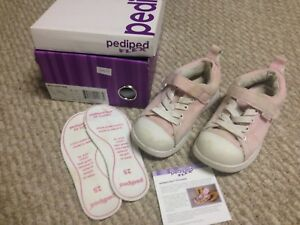 Pink Pediped Flex Shoes