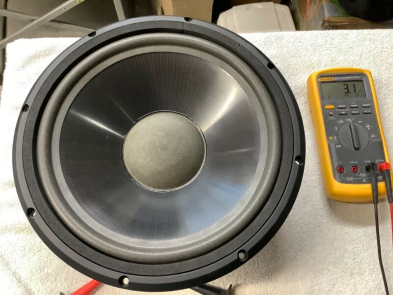 "Infinity kappa 8/9 12"" woofer 902-3054 fully tested and in great shape"