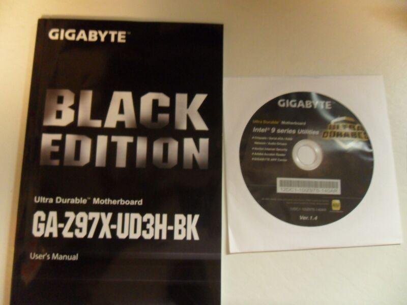 GIGABYTE ATX Motherboard 1333/1600/2933/3000MHz (Socket LGA 1150) Multi GA-Z97X-UD3H-BK
