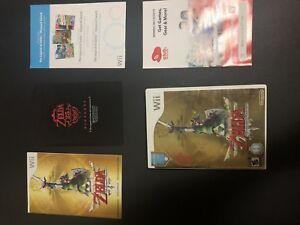 Zelda: Skyward sword with all inserts and bonus music disc!