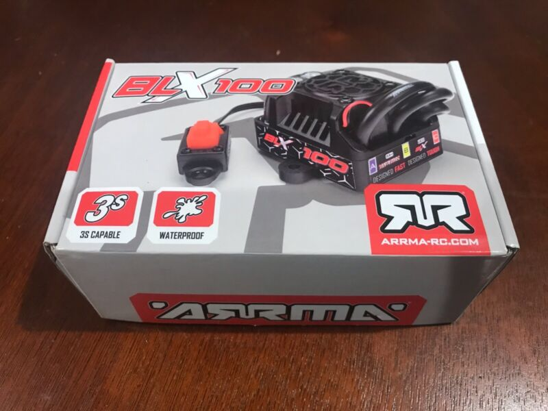 New ARRMA BLX100 100A Waterproof Brushless ESC - AR390069