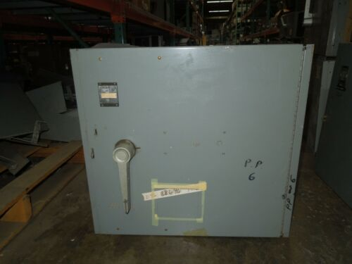 Westinghouse Fdp Unit Fdps367 800a 3p 600v Fusible Panelboard Switch Used