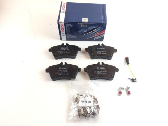 Bosch Set of Brake Pads A-Class W169 A 150 160 160 CDI FRONT AXLE