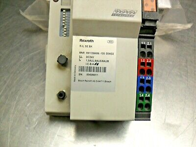 Rexroth R911296696 Inline Sercos Bus Coupler
