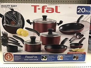 Brand New T-Fal Non-Stick Pots and Pans
