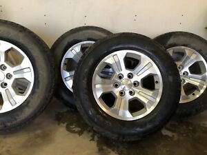 """18"""" Chev rims and tires"""
