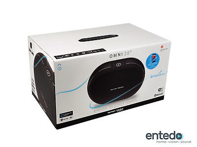 Harman Kardon Omni 20+ Lautsprecher Streaming WLAN Bluetooth Multi Plus Schwarz