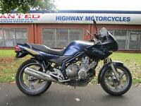 Yamaha Xj 600 Diverson Blue Low Miles Project P/x To Clear P/x Welcome