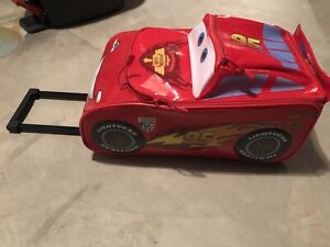 0e04db396d1 Lightning McQueen Trolley Bag  20. Excellent condition. OBO