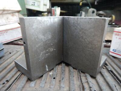 Older Large Corner Angle Plate Machinist Jig Fixture Setup Tooling Lot 2