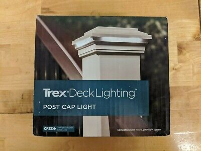 TREX DECK LIGHTING 4X4 PYRAMID POST CAP LIGHT