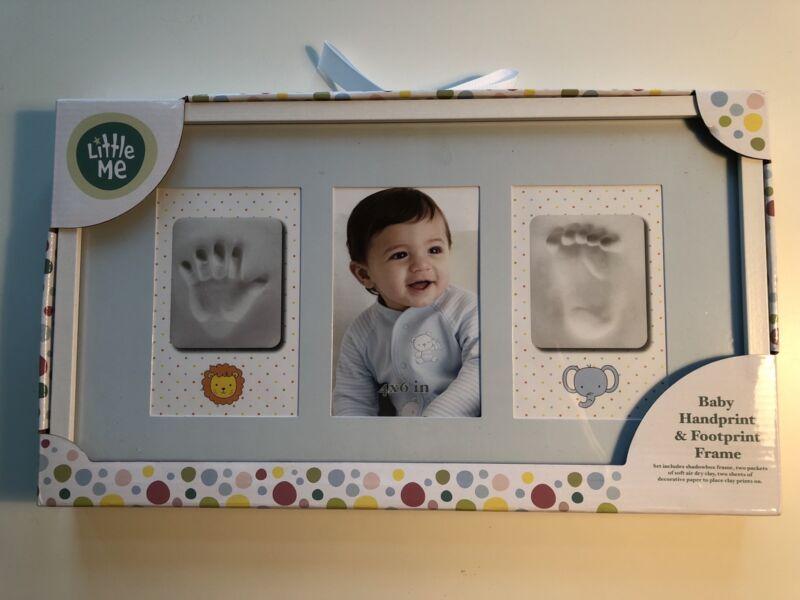 Little Me Baby Handprint & Footprint Frame