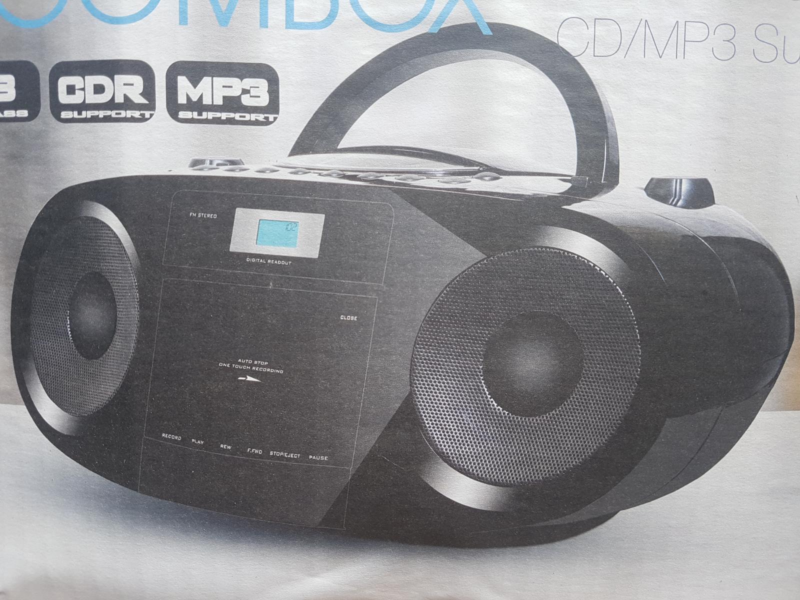 Radiorekorder kassetten spieler CD player MP3 top preis